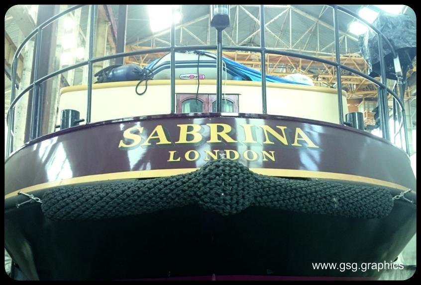 Boat Name - Sabrina