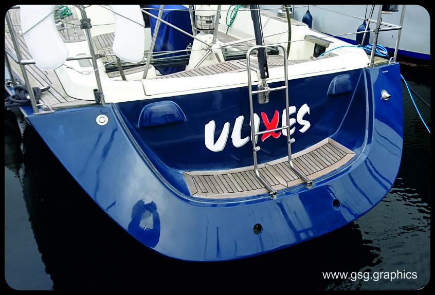 Boat Name - Ulixes
