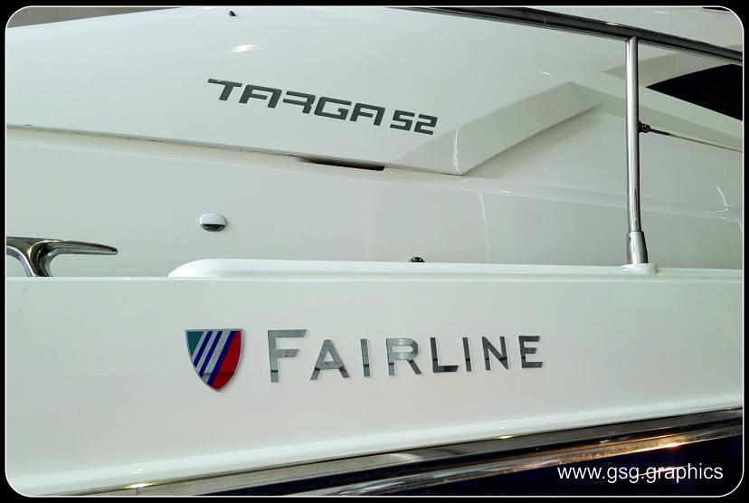 Fairline Targa 52 Badges