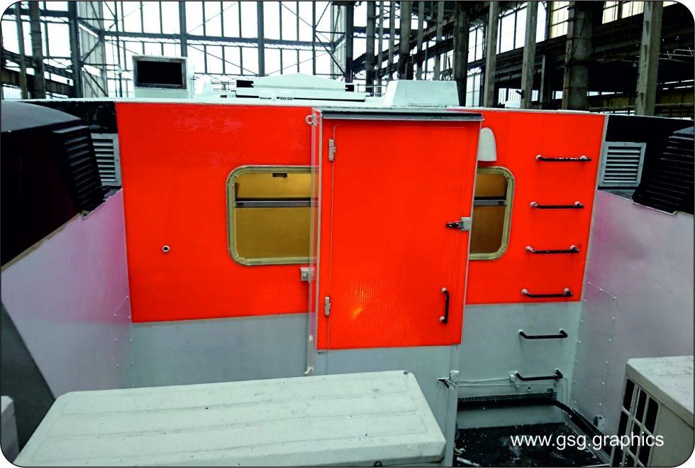 commercial vessel - Silver Fleet Orange