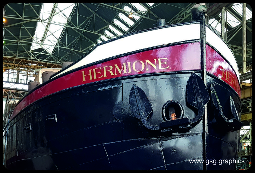 Boat Name - Hermione 2