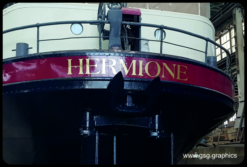 Boat Name - Hermione