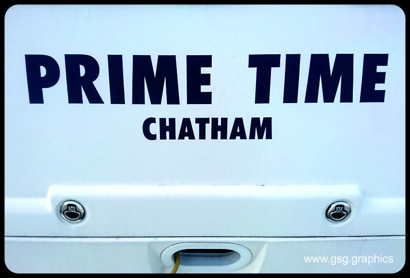 Boat Name - Prime Time