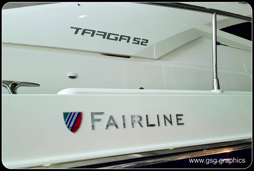Fairline Targa 52 Badges