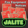 Jalite Fire Fighting Equipment Notices