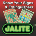 Jalite Know Your Extinguishers & Safety Signs